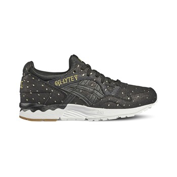 Gel-Lyte - Baskets  en cuir - noir