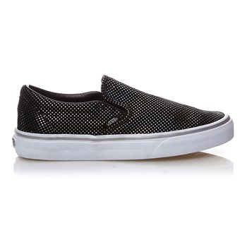 UA CLASSIC SLIP-ON - Baskets en cuir - argent