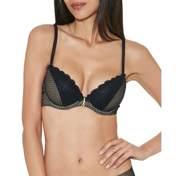 Art of kissing - Soutien-gorge à armatures - noir