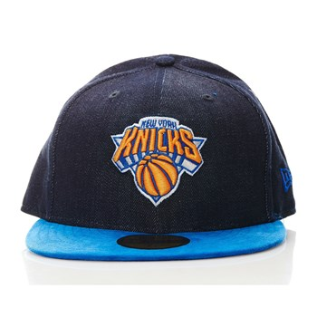 New York Knicks - Casquette - denim bleu