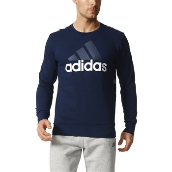 Sweat-shirt - bleu marine