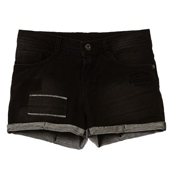bolie17 - Short - denim noir