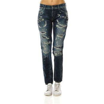 Joey - Jean boyfriend - denim bleu