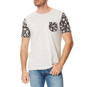TURIN 2 MC - T-shirt - gris chine