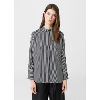Chemise fluide rayures - bicolore