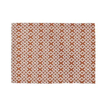 Raphia - Set de Table - orange