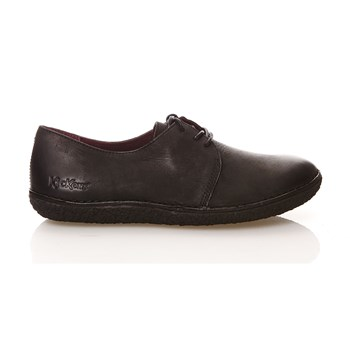 HOLSTER - Derbies en cuir - noir