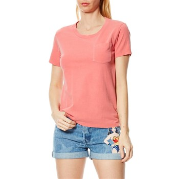 The Perfect Pocket Tee - T-shirt - rose