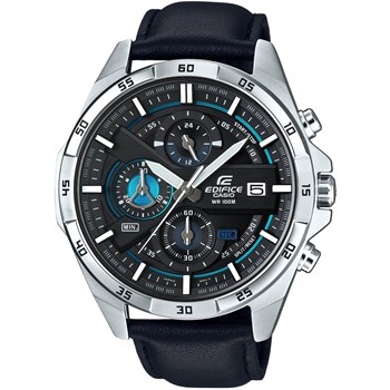Casio - Edifice - Montre en cuir - noir
