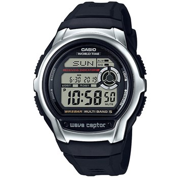 Casio - Wave Ceptor - Montre digital - noir