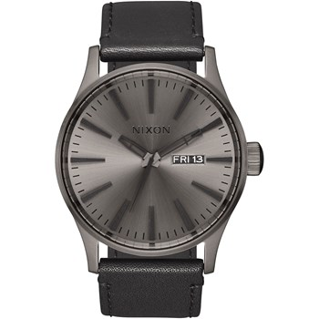 Sentry Leather - Montre en cuir - noir