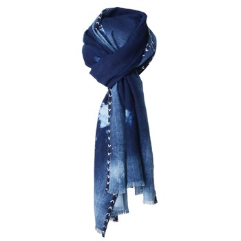 Denim - Foulard - bleu