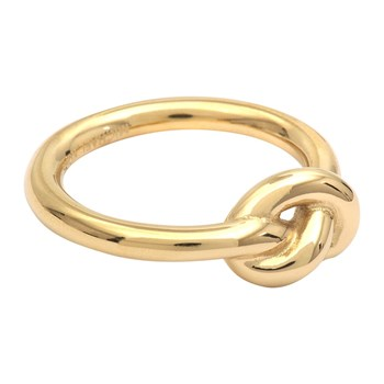 Brilliance Knot - Anillo - dorado