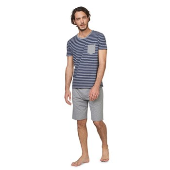 Ensemble T-shirt et bermudas - bicolore