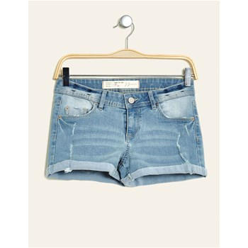 Short en jean - denim bleu