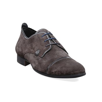 Andy - Derbies en cuir - gris