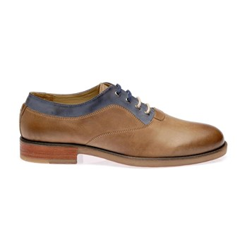 Tig - Mocassins en cuir - marron clair