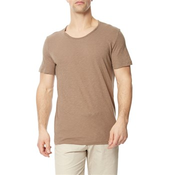 Benetton - T-shirt manches courtes - taupe