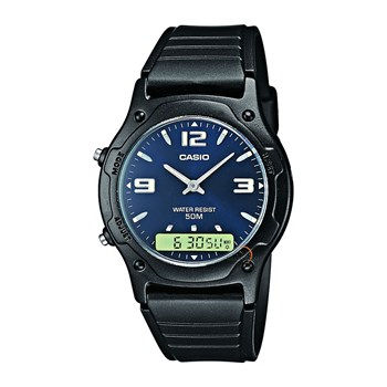 Casio - Collection - Orologio in resina - nero