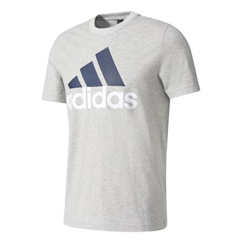 T-SHIRT MANCHES COURTES - GRIS CHINE adidas Performance