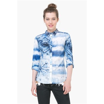Flower - T-shirt - bleu