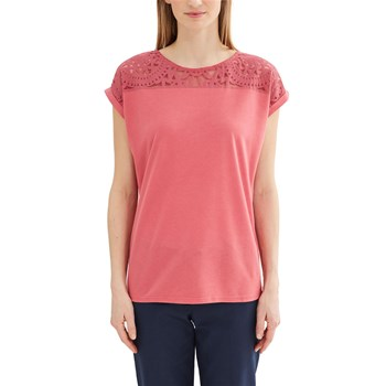 Kurzärmeliges T-Shirt - blush