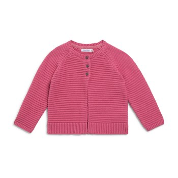 Cardigan fantaisie - rose