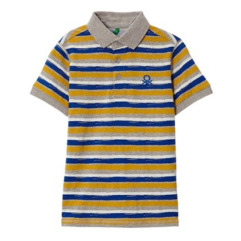 Polo-Shirt - gestreift