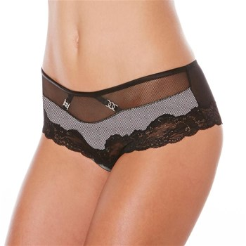 Pomm'Poire - Tentation - Shorty - noir