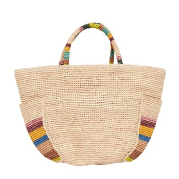 Anuanua - Sac shopping - beige