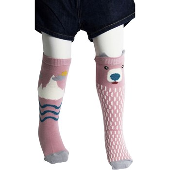 Ourson - Lot de 2 chaussettes - rose