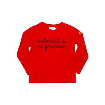 Interdit Crown - T-shirt - rouge