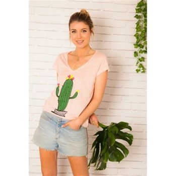 Tibi - T-shirt - rose