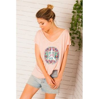Tisco - T-shirt - rose