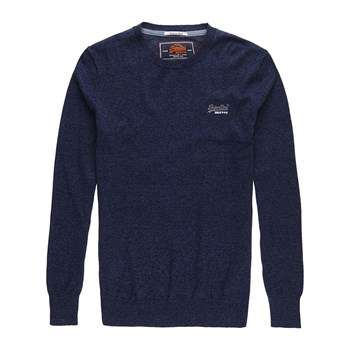 Superdry - Orange Label - Sweat-shirt - bleu marine