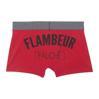New Basketiz Flambiz - Boxer court - rouge