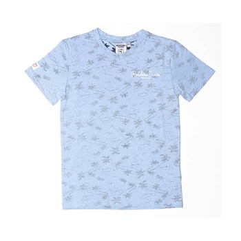 Palm springs - T-shirt - bleu