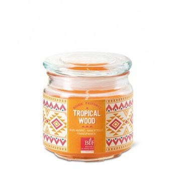 Tropical Wood - Bougie parfumée bonbonnière - orange