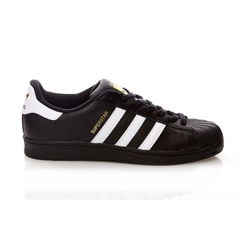 SUPERSTAR - Ledersneakers - schwarz