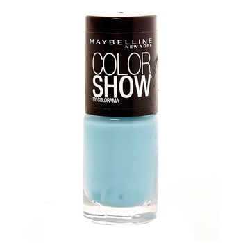 Maybelline - 651 Cool Blue Color Show - Esmalte de uñas - celeste