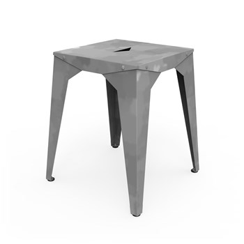 Zhed - Cuatro - Tabouret bas - gris