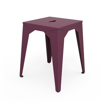 Zhed - Cuatro - Tabouret - aubergine
