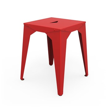 Zhed - Cuatro - Tabouret - rouge