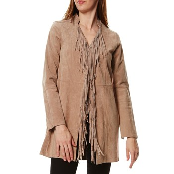Oakwood - Keep - Lederjacke - beige