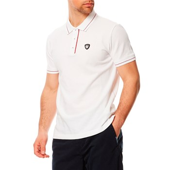 Polo-Shirt - weiß