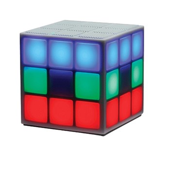 Enceinte cube multi-led - multicolore