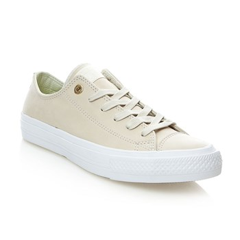 CHUCK TAYLOR ALL STAR II OX BUFF/BUFF/WHITE - Baskets en cuir - ecru