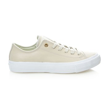 Chuck Taylor All Star II OX - Sneakers in pelle - écru