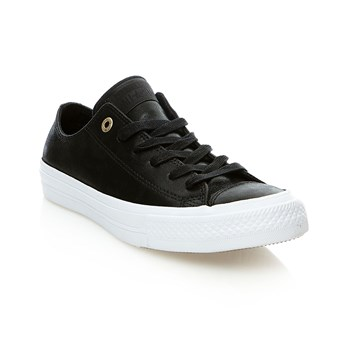 Chuck Taylor All Star II OX - Baskets en cuir - noir