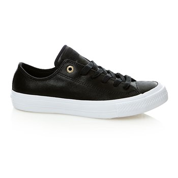 Chuck Taylor All Star II OX - Sneakers in pelle - nero